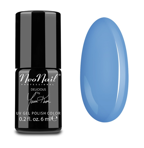 Neonail Uv Gel Polish 6 Ml Blue Cream Jelly
